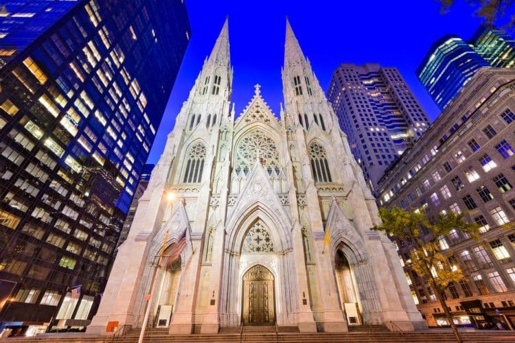 Собор Святого Патрика - достопримечательности Нью-Йорка