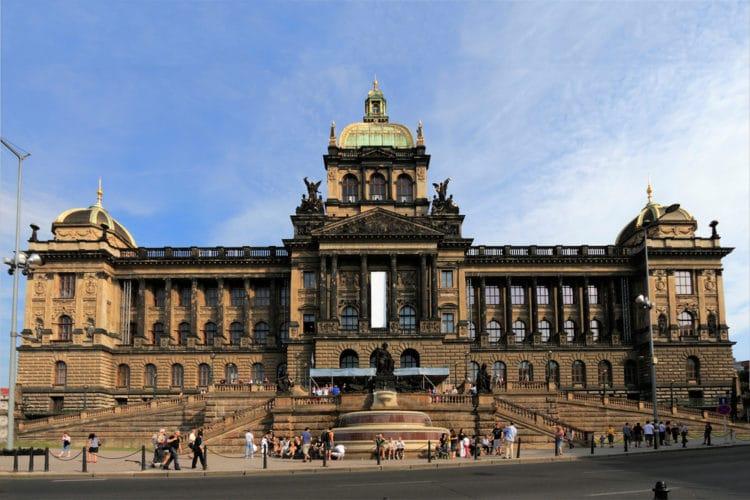 Национальный музей Праги - достопримечательности Праги