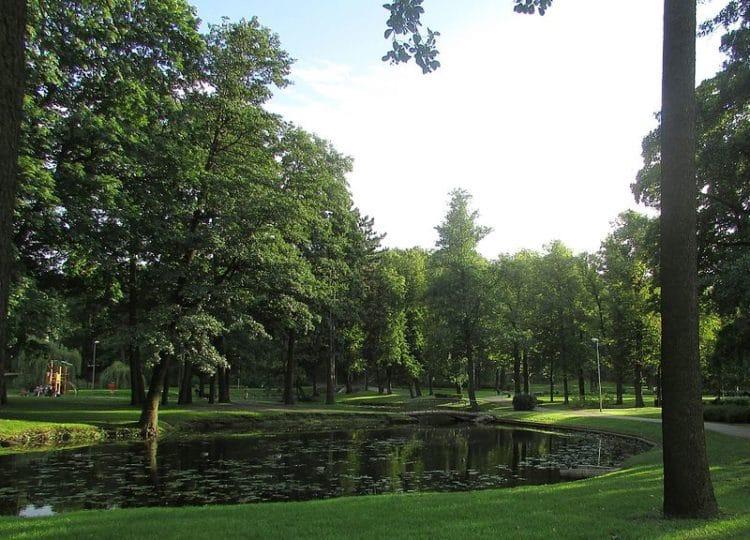 Парк Аркадия - достопримечательности Риги
