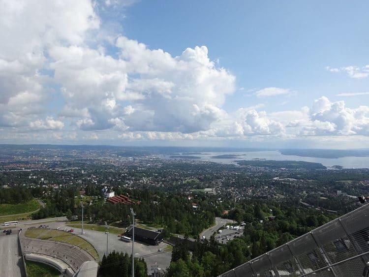 Район Хольменколлен - достопримечательности Осло