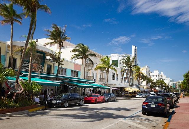Оушен Драйв - достопримечательности Майами