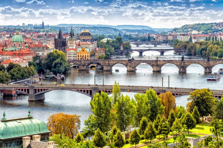 Самые красивые города Европы - Прага. Чехия