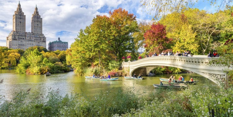Центральный парк Нью-Йорка - достопримечательности Нью-Йорка