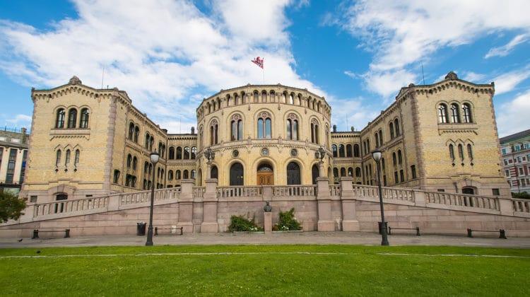 Здание парламента (Стортинг) - достопримечательности Осло