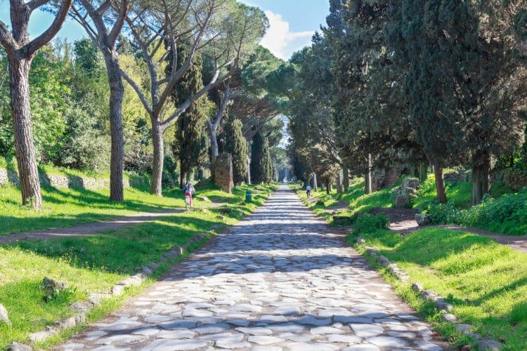 Аппиева дорога - достопримечательности Рима