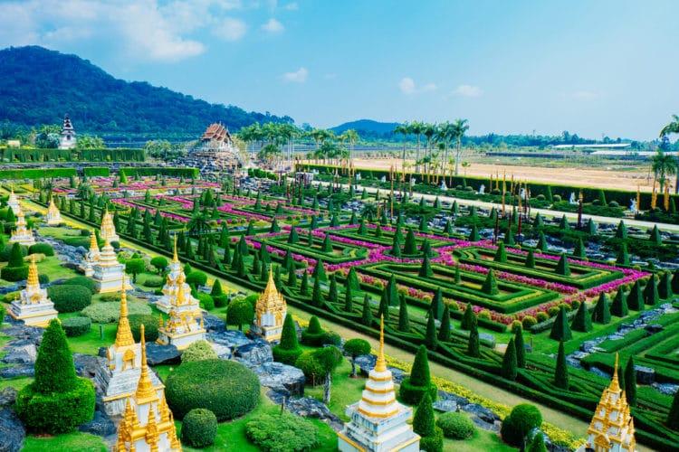 Тропический сад Нонг Нуч - достопримечательности Паттайи