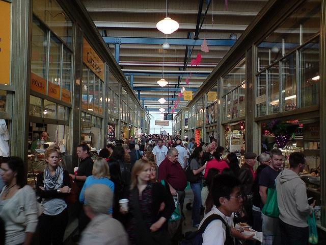 Рынок королевы Виктории - достопримечательности Мельбурна
