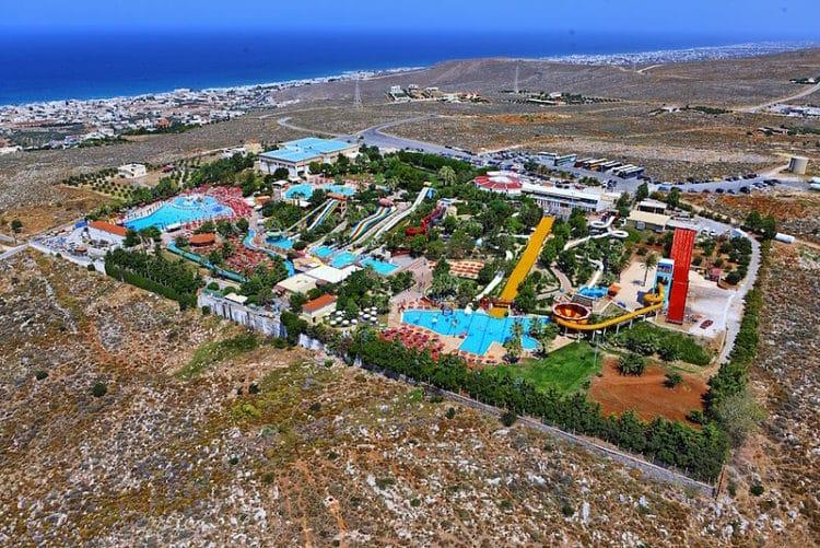 Аквапарк «Water City» - достопримечательности Крита