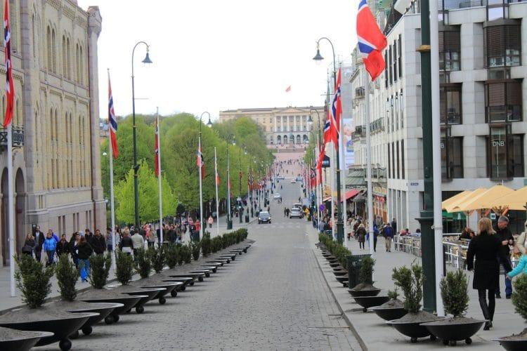 Улица Карла-Юхана - достопримечательности Осло