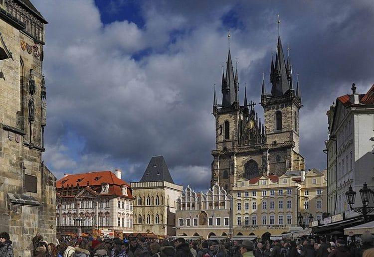 Тынский храм - достопримечательности Праги