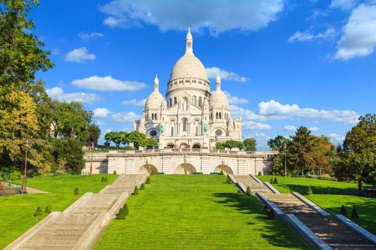 Базилика Сакре-Кёр - достопримечательности Парижа