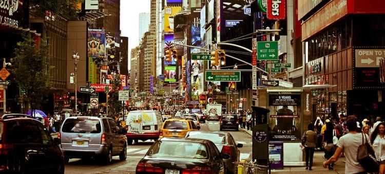 Улица Бродвей - достопримечательности Нью-Йорка