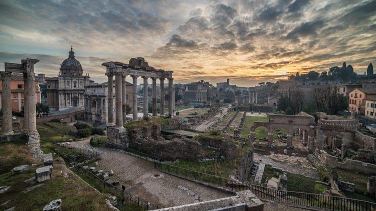 Римский форум - достопримечательности Рима