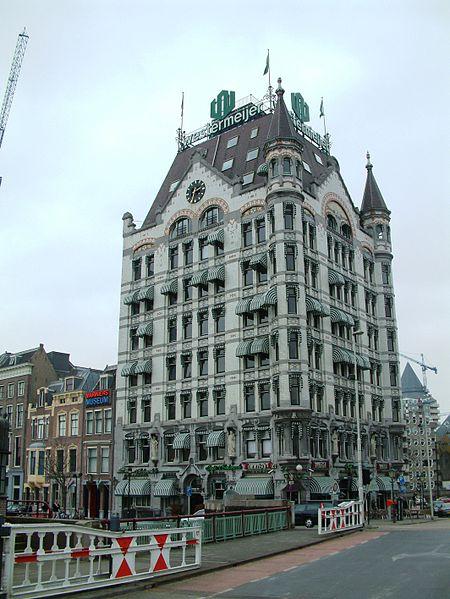 Белый дом - достопримечательности Роттердама