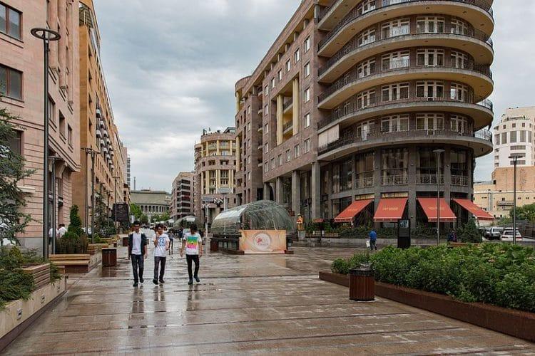 Северный проспект - достопримечательности Еревана