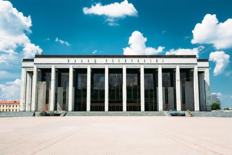 Дворец Республики - достопримечательности Минска