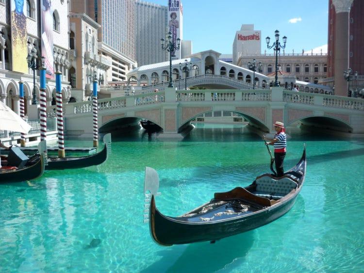 «Венецианский Лас-Вегас» - достопримечательности Лас-Вегаса