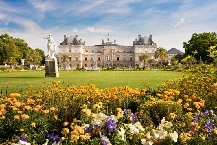 Люксембургский сад и дворец - достопримечательности Парижа