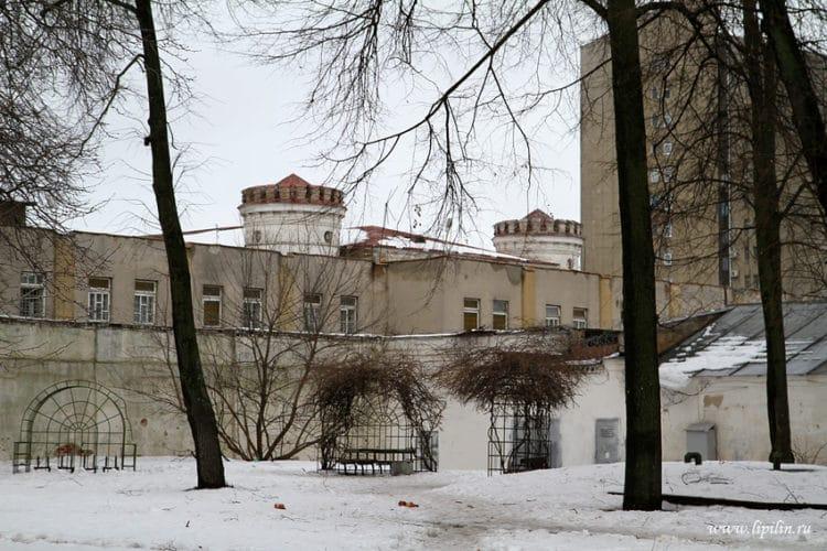 Пищаловский замок - достопримечательности Минска