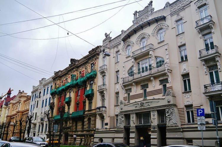 Улица Альберта - достопримечательности Риги
