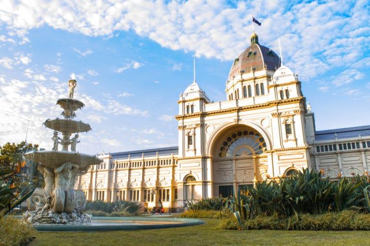 Королевский выставочный центр Donaldytong - достопримечательности Мельбурна