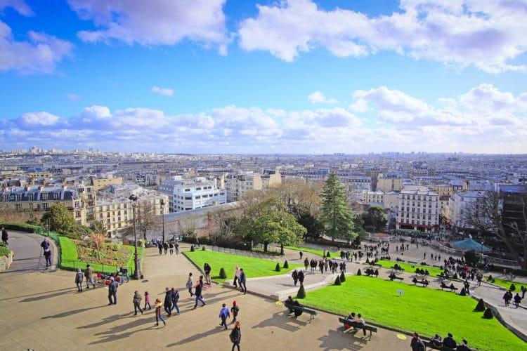 Монмартр - достопримечательности Парижа