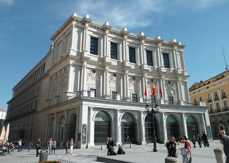 Королевский театр - достопримечательности Мадрида