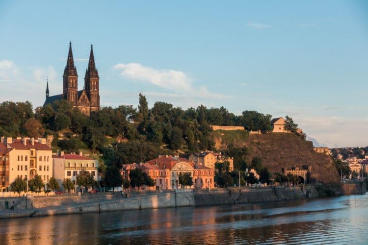 Крепость Вышеград - достопримечательности Праги