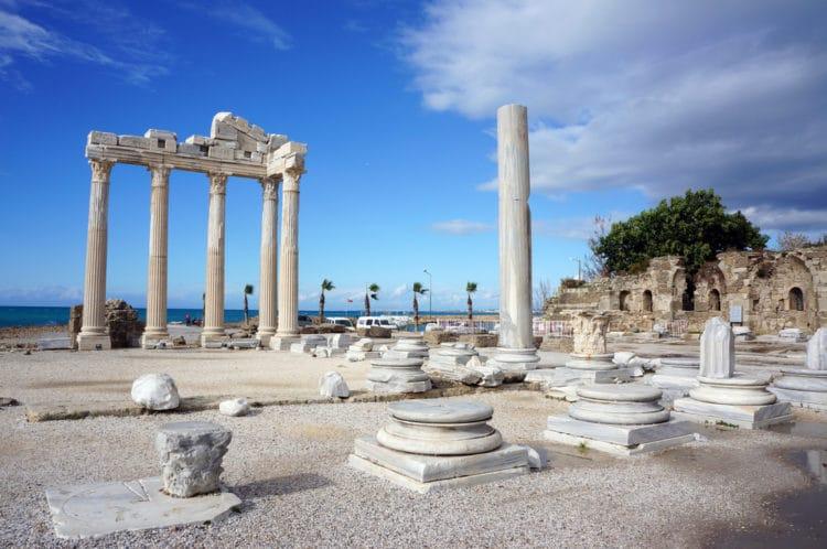 Храм Аполлона - достопримечательности Сиде