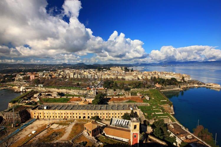Старый город Керкира - достопримечательности Корфу