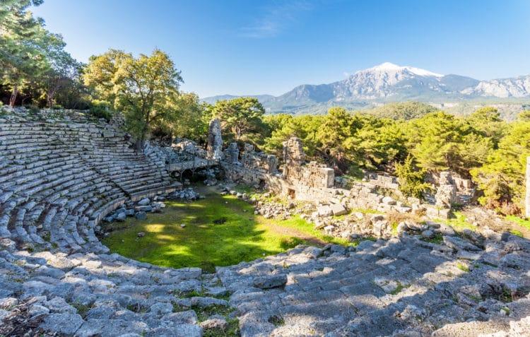 Древний город Фаселис - достопримечательности Кемера