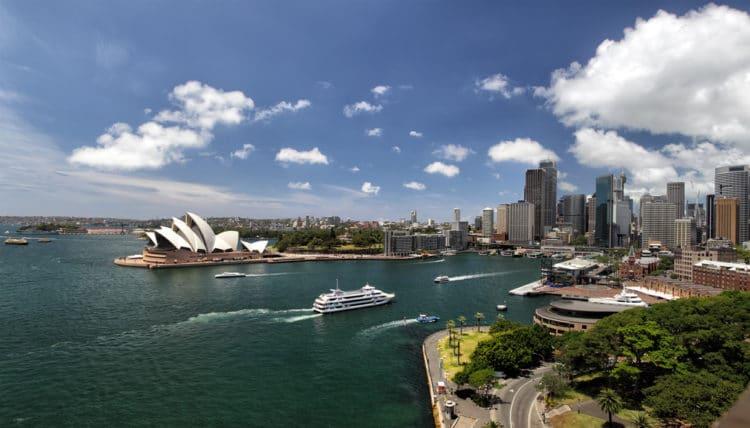 Порт-Джексон - достопримечательности Сиднея