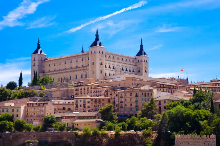 Дворец Алькасар - достопримечательности Толедо