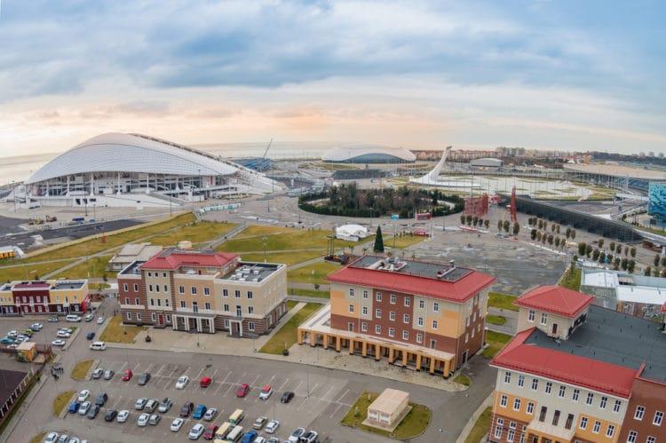 Олимпийский парк - достопримечательности Сочи