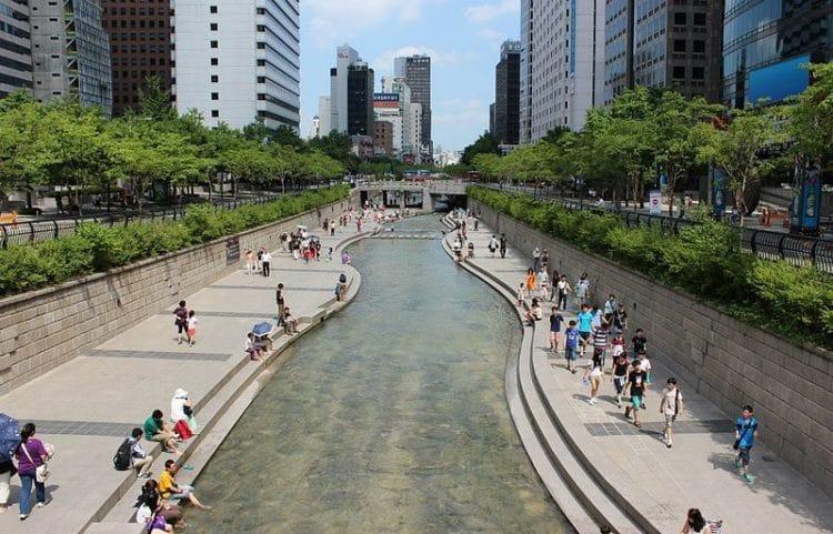 Чхонгечхон - достопримечательности Сеула