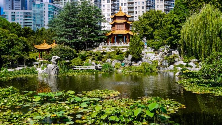 Китайский Сад Дружбы - достопримечательности Сиднея