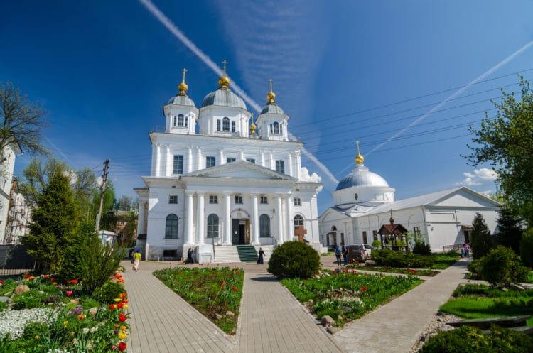 Казанский женский монастырь - достопримечательности Ярославля