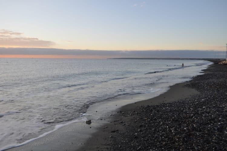 Пляж Дамская Миля - достопримечательности Лимассола