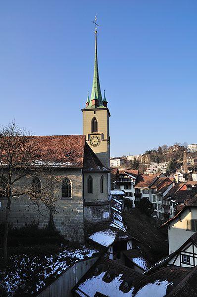 Церковь Нидегкирхе - достопримечательности Берна