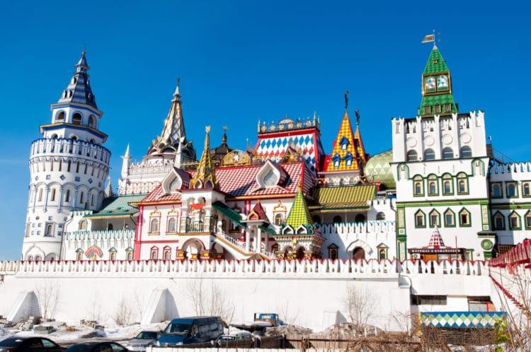Кремль в Измайлово - достопримечательности Москвы