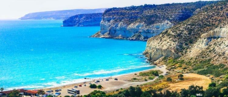 Пляж Курион - достопримечательности Лимассола