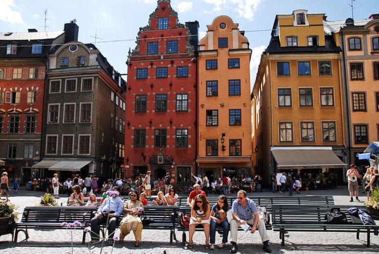 Площадь Стурторьет - достопримечательности Стокгольма
