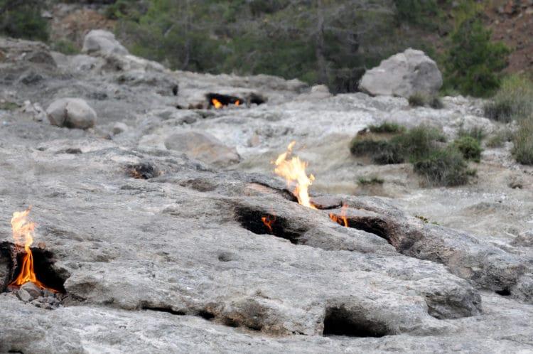 Огненная гора Янарташ - достопримечательности Кемера