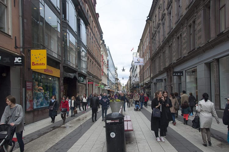 Улица Дроттнинггатан - достопримечательности Стокгольма