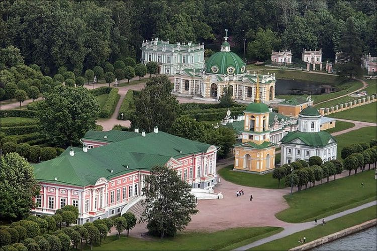 Усадьба Кусково - достопримечательности Москвы