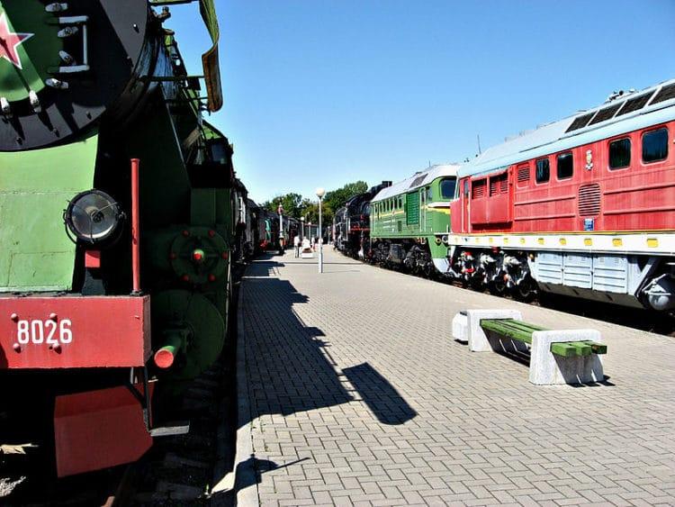 Железнодорожный музей - достопримечательности Бреста