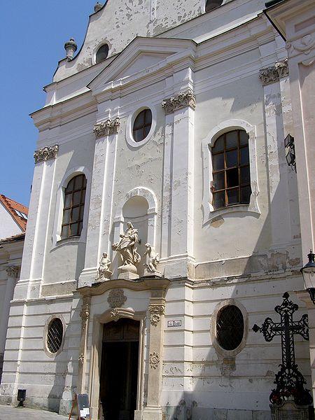 Церковь францисканцев - достопримечательности Братиславы