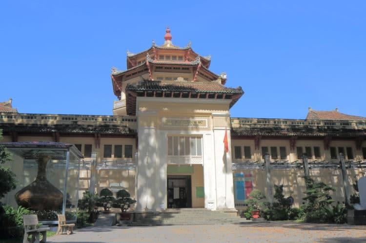 Музей истории Вьетнама - достопримечательности Хошимина