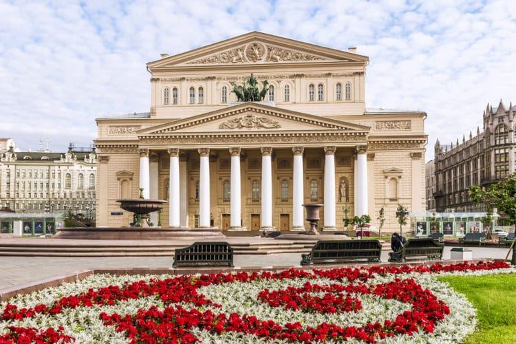 Большой театр - достопримечательности Москвы