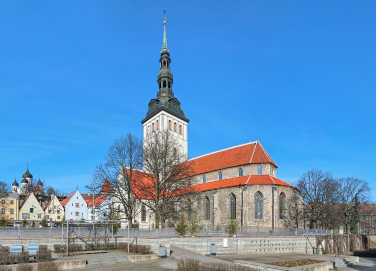 Церковь Нигулисте - достопримечательности Таллина